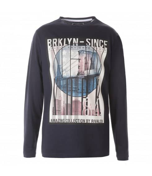 T-shirt manches longues Brooklyn