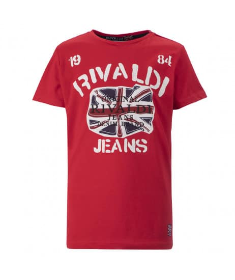 T-shirt junior rouge