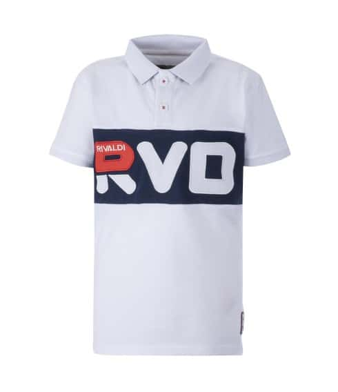 Polo junior blanc